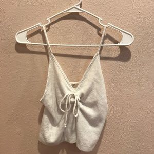 Brandy Melville white tank top